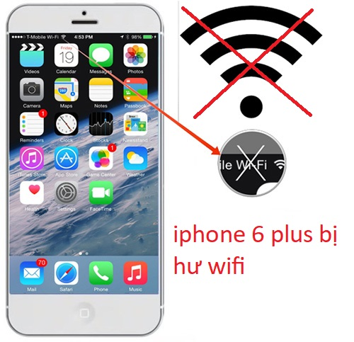 iphone 6 plus bị hư wifi
