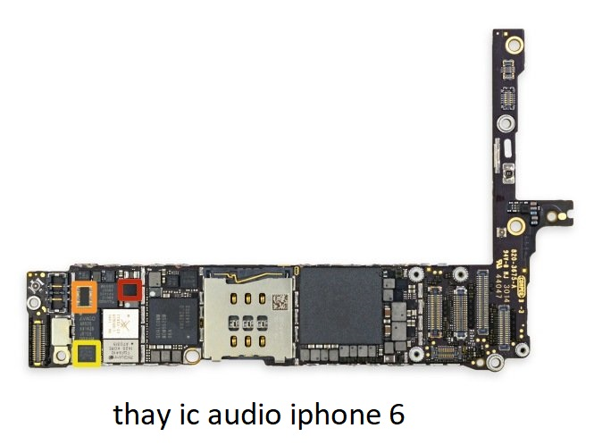 thay ic audio iphone 6