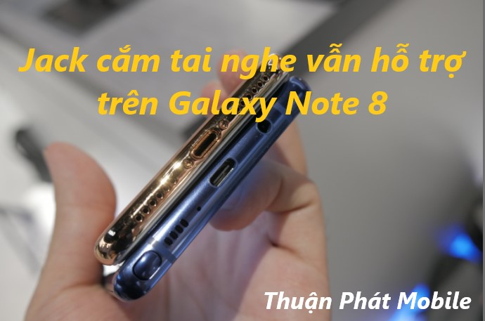 So sánh Samsung Galaxy Note 8 và iPhone X