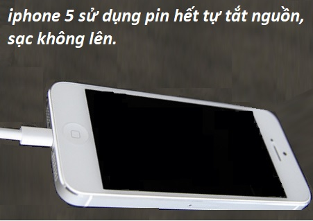 cach kich pin iphone 5
