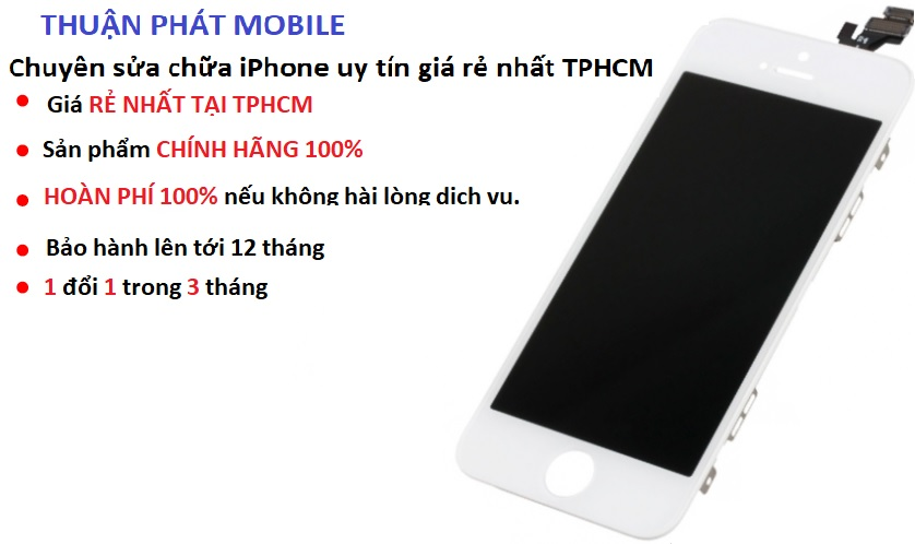 fix loi soc man hinh iphone 5