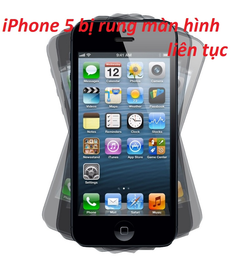 iphone 5 bi rung man hinh