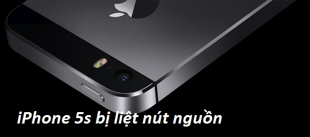 iphone 5s bi liet nut nguon