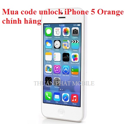 mua code unlock iphone 5 orange