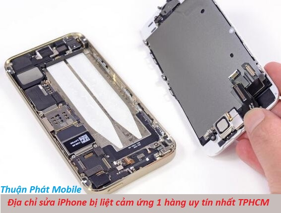 sua iphone bi liet cam ung 1 hang