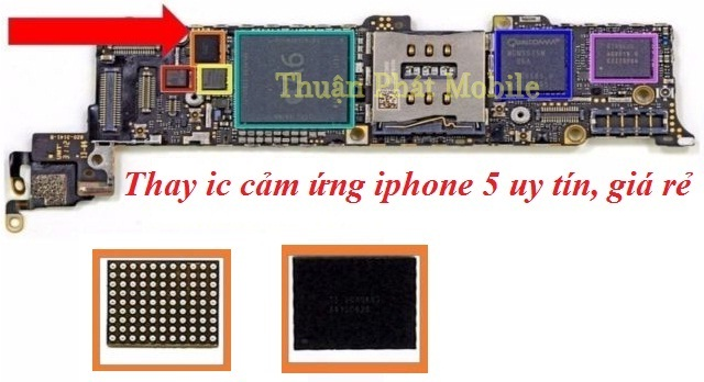 thay ic cam ung iphone 5 uy tin gia re hcm