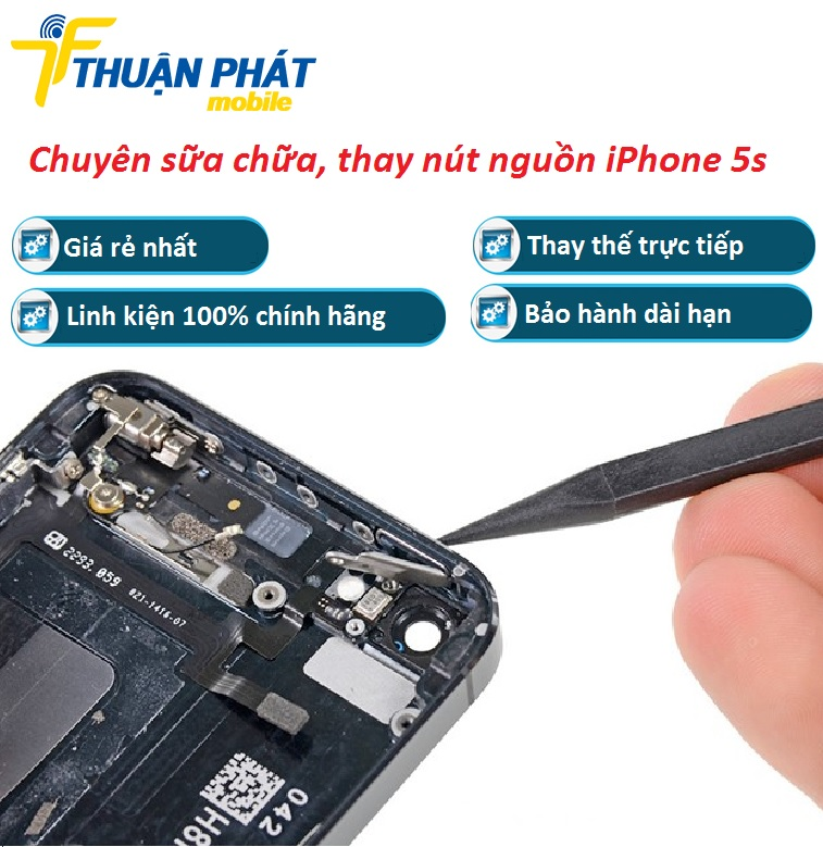 thay nut nguon iphone 5s