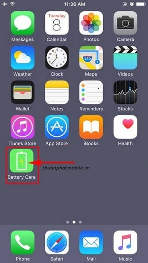 cach tu kiem tra chai pin cua iphone 7 plus Battery Care