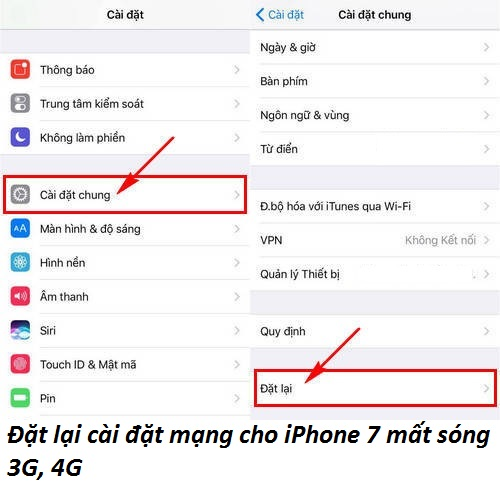 khac phuc iphone 7 bi mat song 3g 4g