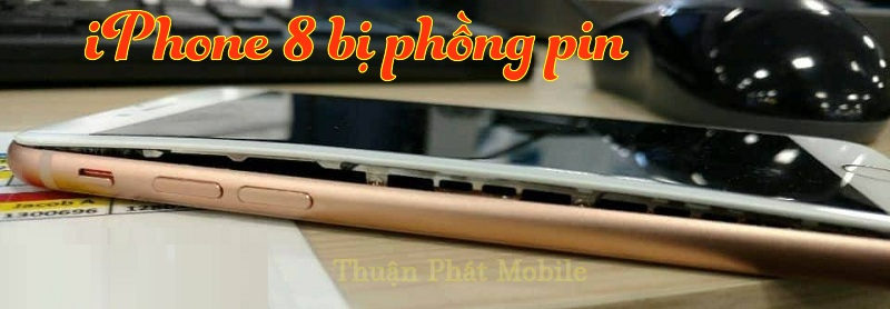iphone 8 bi phong pin